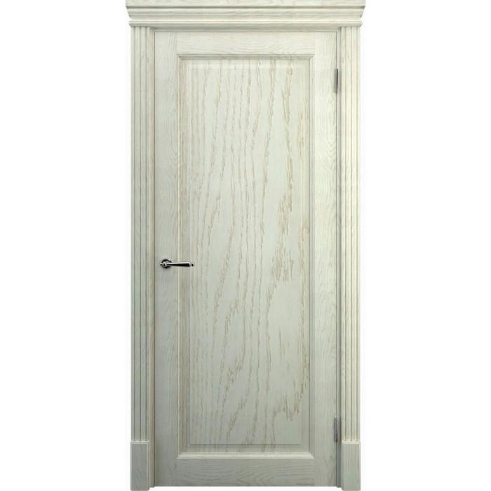 Двери из дуба беленый дуб К1