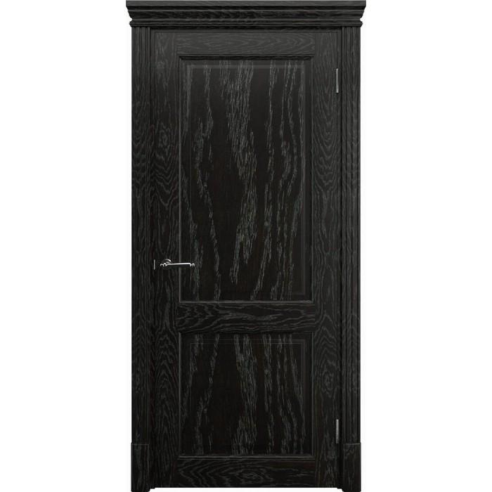 Двери межкомнатные в Минске темного цвета