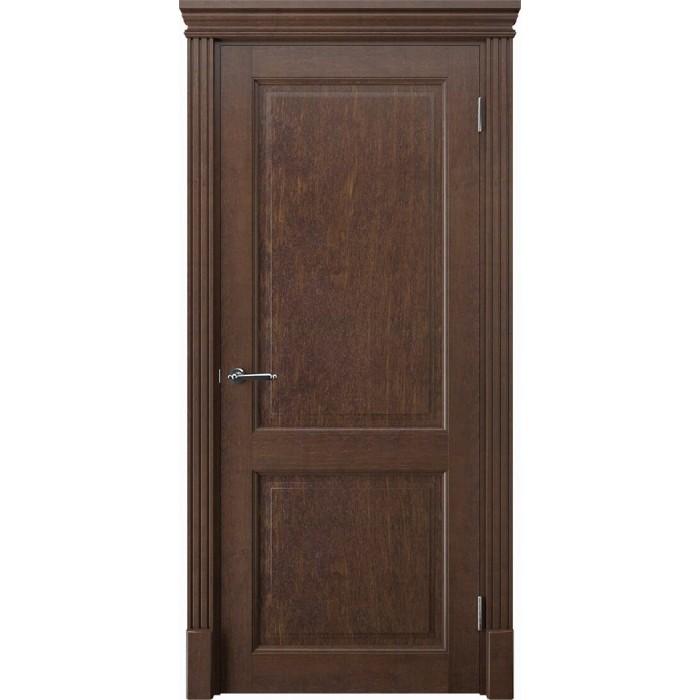 Двери из ольхи коричневая К2
