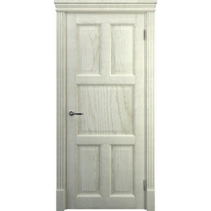 Двери из дерева дуб, K10, беленый дуб