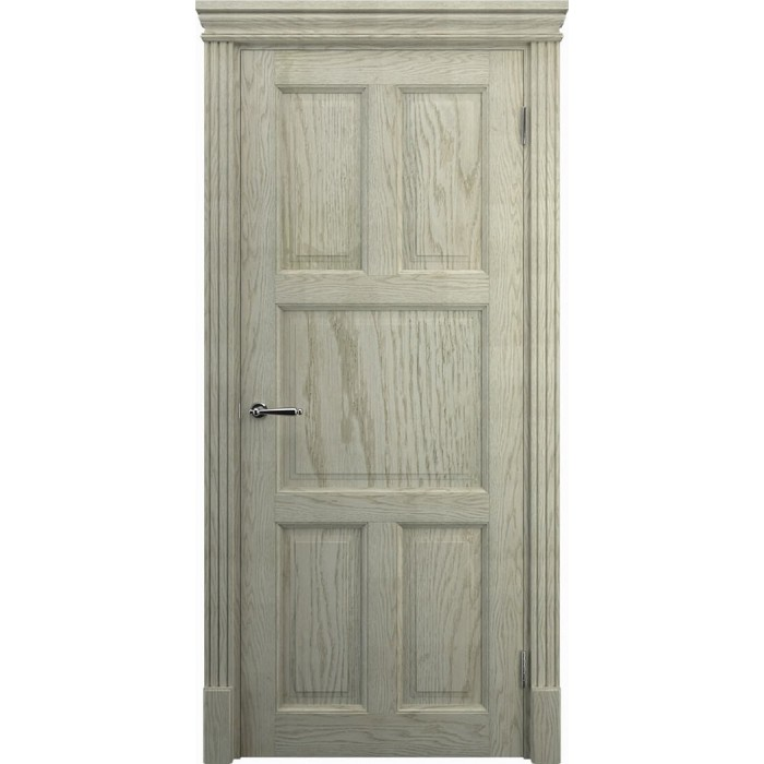 Двери из дерева дуб, K10, слоновая кость