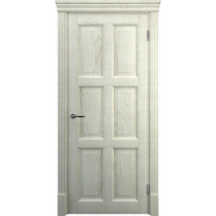 Заказать двери в кухню из дуба K11, беленый дуб
