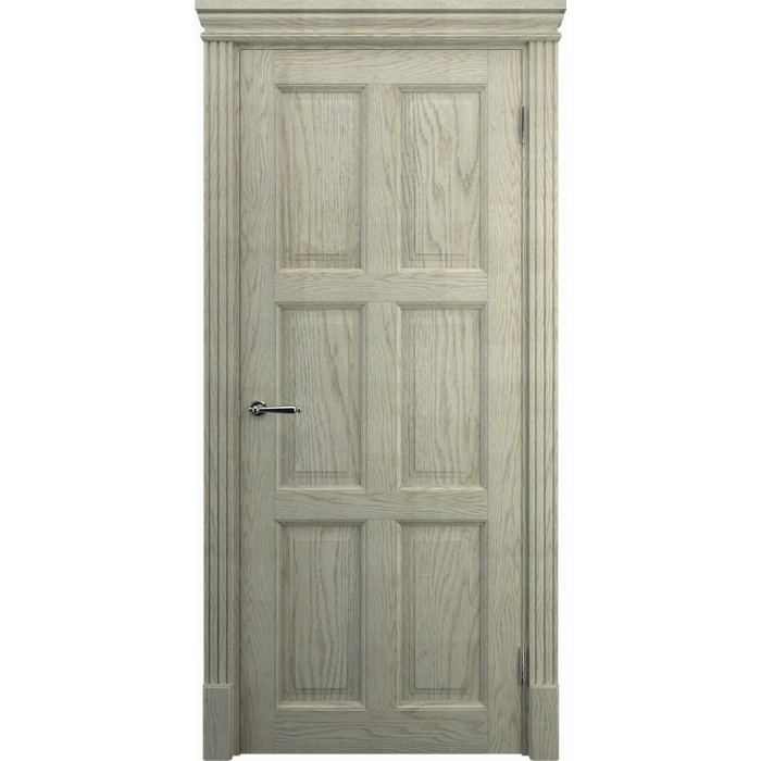 Заказать двери в кухню из дуба K11, слоновая кость