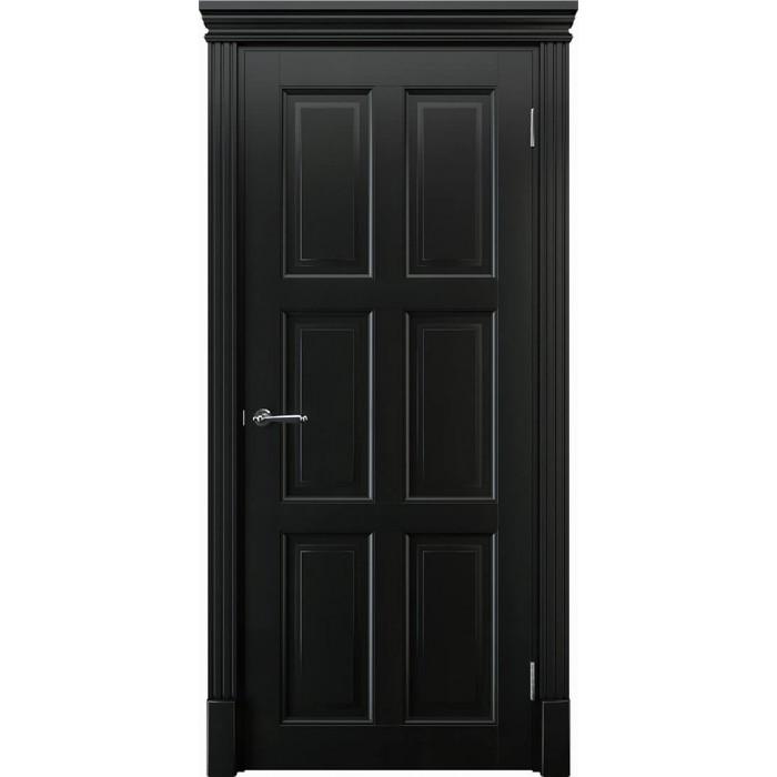Купить двери из массива ольхи черные