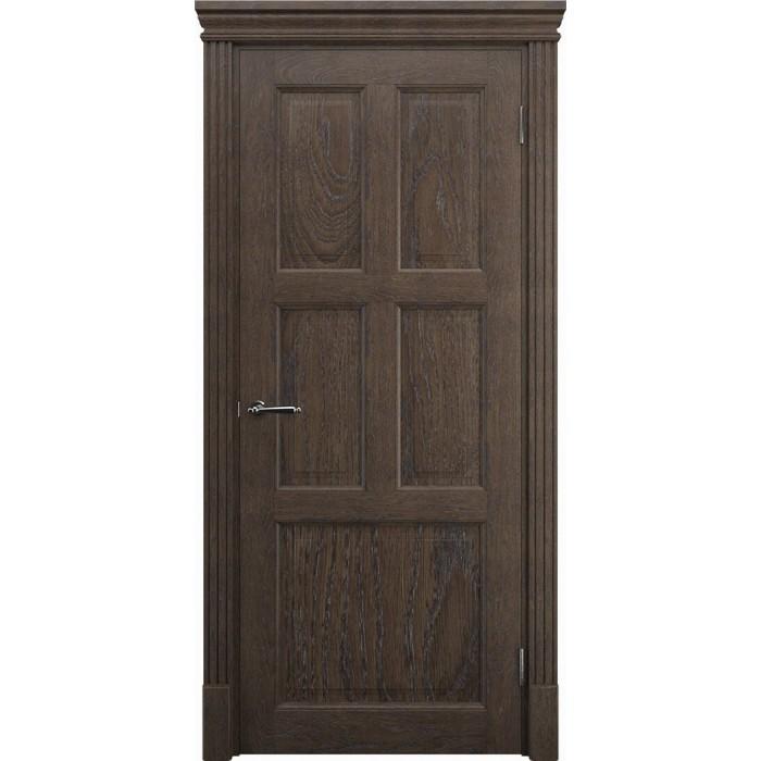 Дверь межкомнатная из массива дуба K12, махагон, а так же инивидуальные раздвижные двери