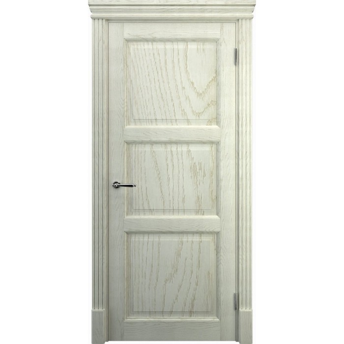 Межкомнатные двери дуб K3, беленый дуб