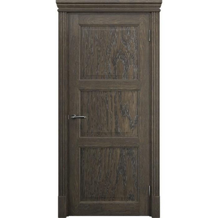 Межкомнатные двери дуб K3, орех