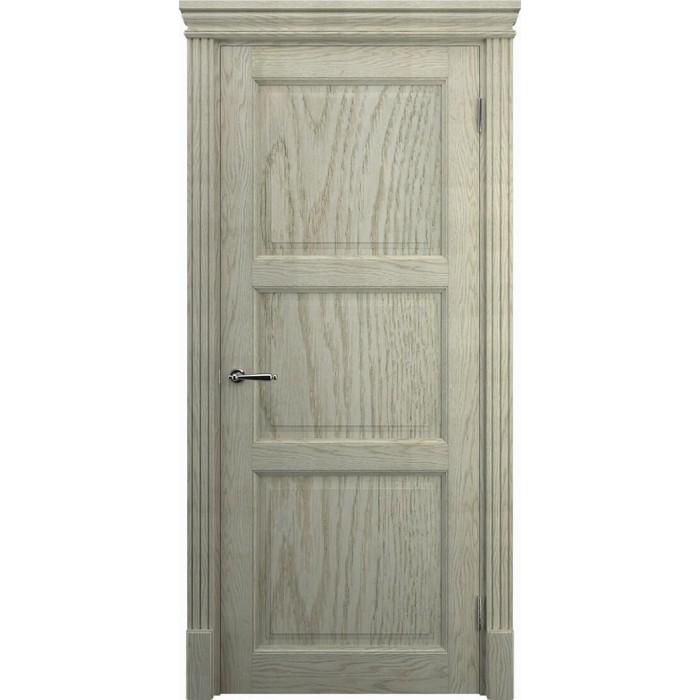 Межкомнатные двери дуб K3, слоновая кость