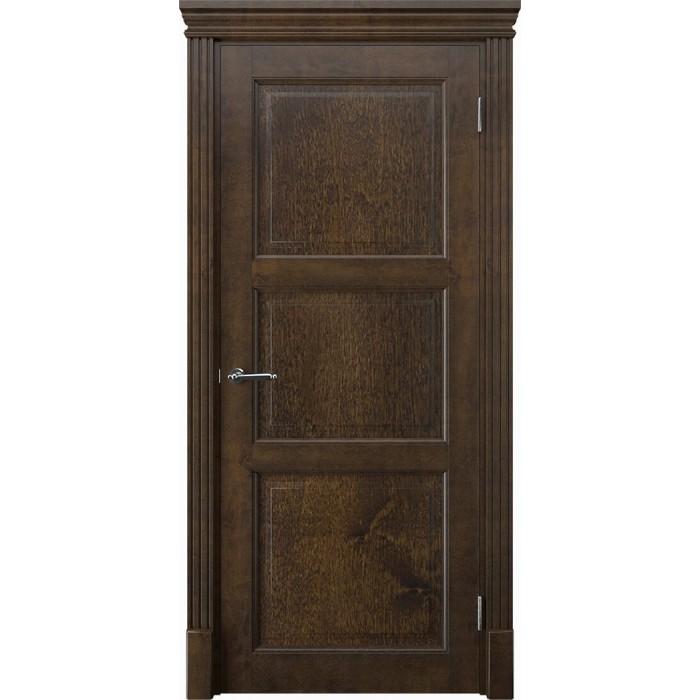 Купить двери из массива ольхи орех коричневые