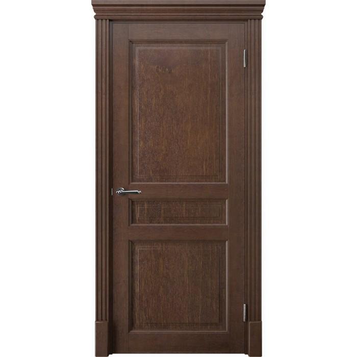 Производство дверей из ольхи коричневых К4