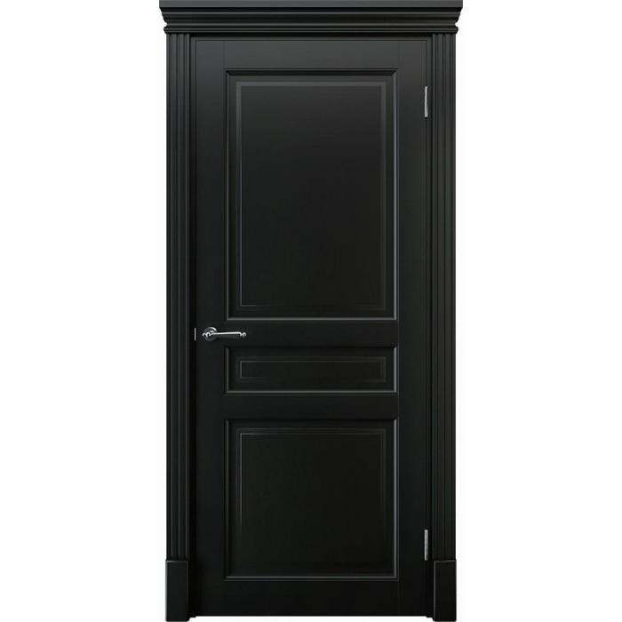 Производство дверей из ольхи черных К4