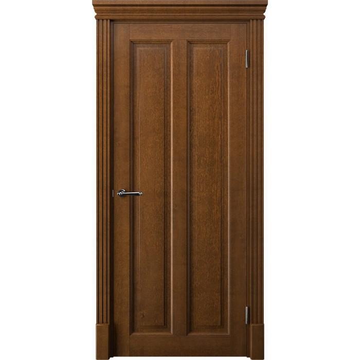 Заказать деревянные двери коричневые песок К5