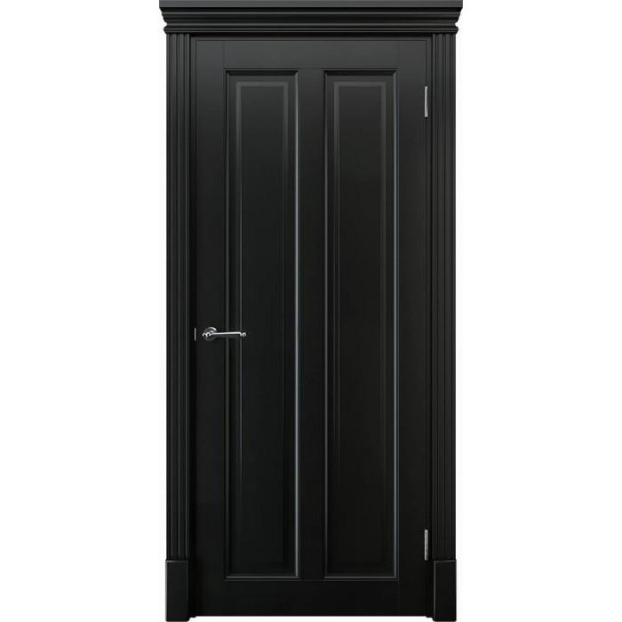 Заказать деревянные двери черные К5
