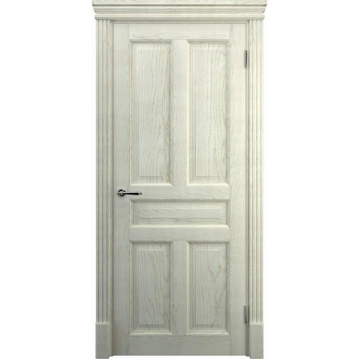 Заказать двери беленый дуб К6