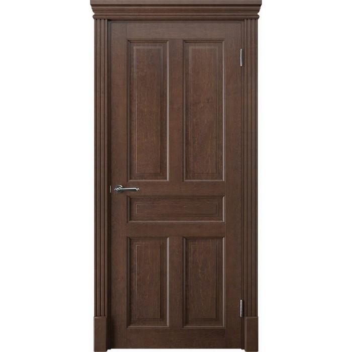 Купить двери из дерева коричневые махагон