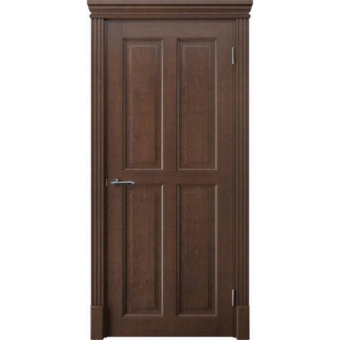 Купить двери из дерева махагон