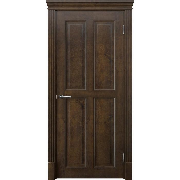 Купить двери из дерева коричневые орех