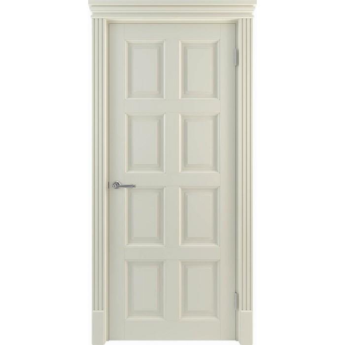 Двери в зал бежевые, молочные, слоновая кость