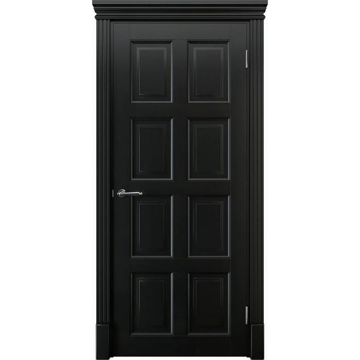 Двери в зал черные