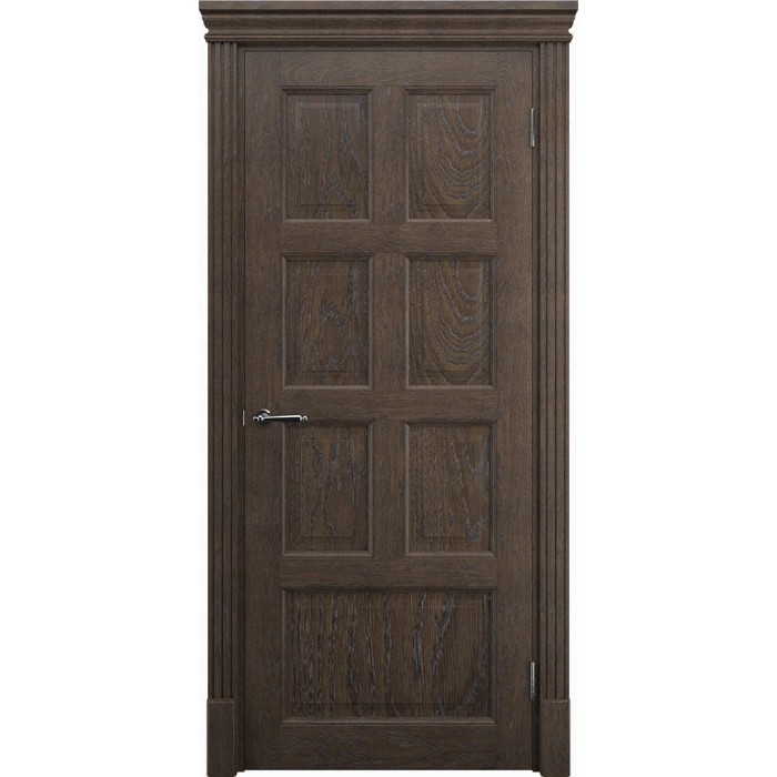 Межкомнатные двери дуб махагон К9 ЧУП Имплайн