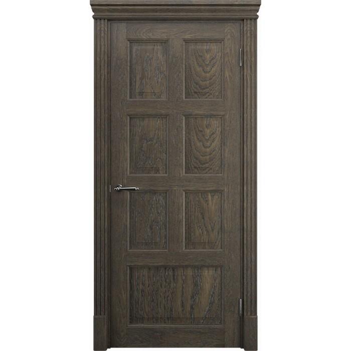 Межкомнатные двери дуб коричневые орех К9 ЧУП Имплайн