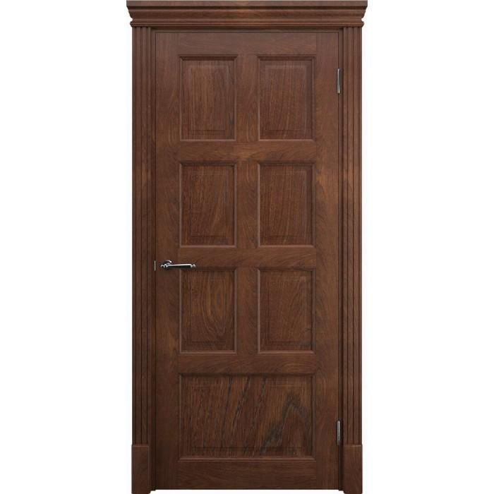 Межкомнатные двери дуб коричневые песок К9 ЧУП Имплайн