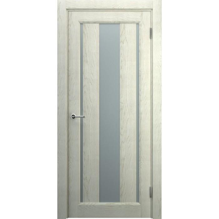 Современные межкомнатные двери М1 беленый дуб