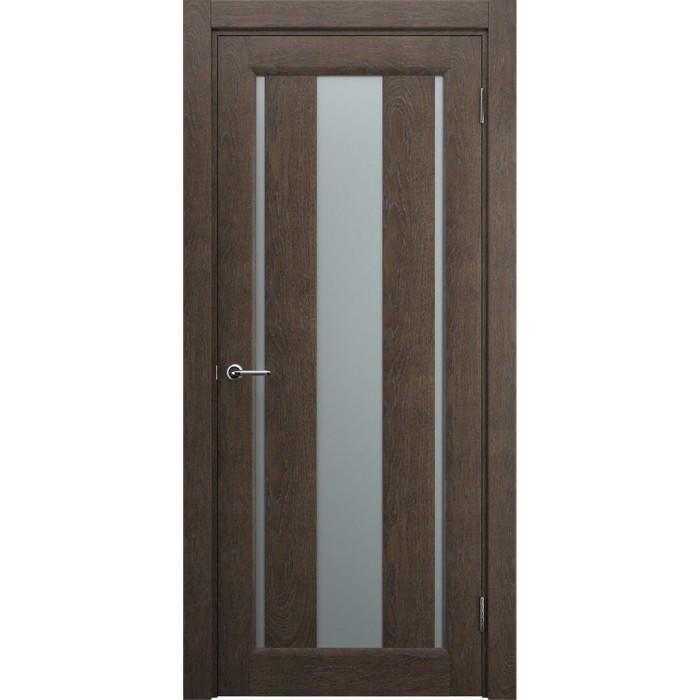 Современные межкомнатные двери М1 коричневые махагон