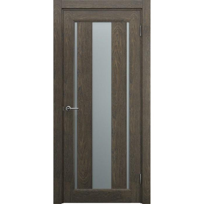 Современные межкомнатные двери М1 коричневые орех