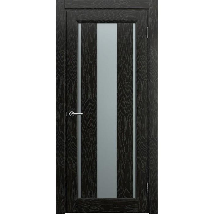 Современные межкомнатные двери М1 темные венге
