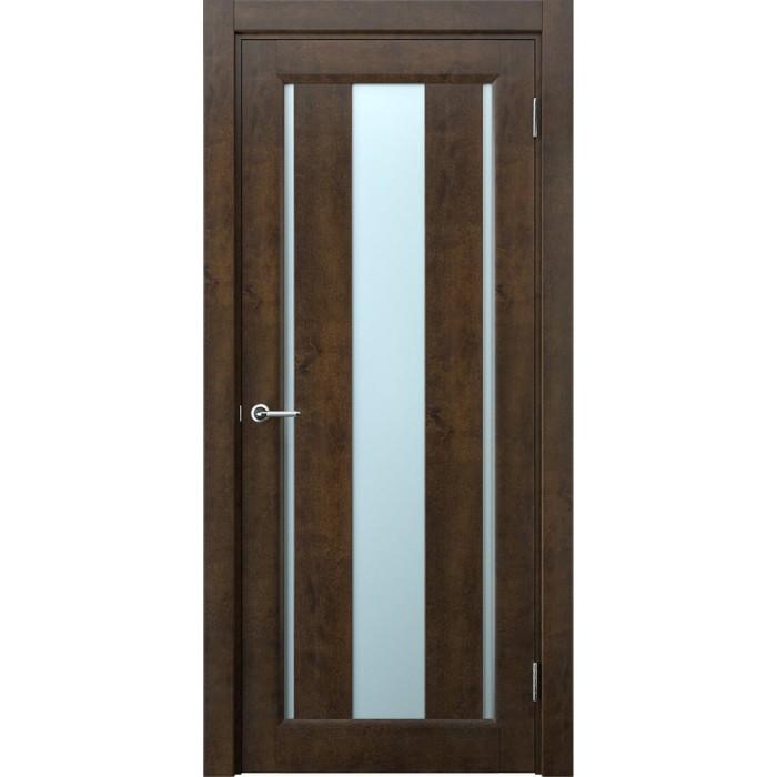 Двери из ольхи коричневые М1