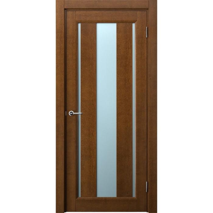 Двери из ольхи коричневая песок М1