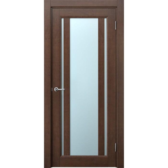 Изготовление дверей из ольхи махагон М2