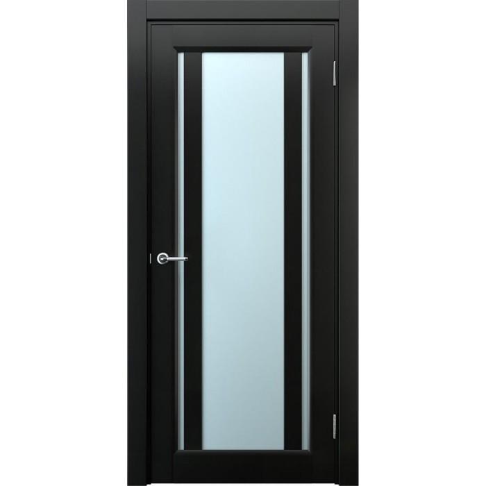 Изготовление дверей из ольхи темных М2