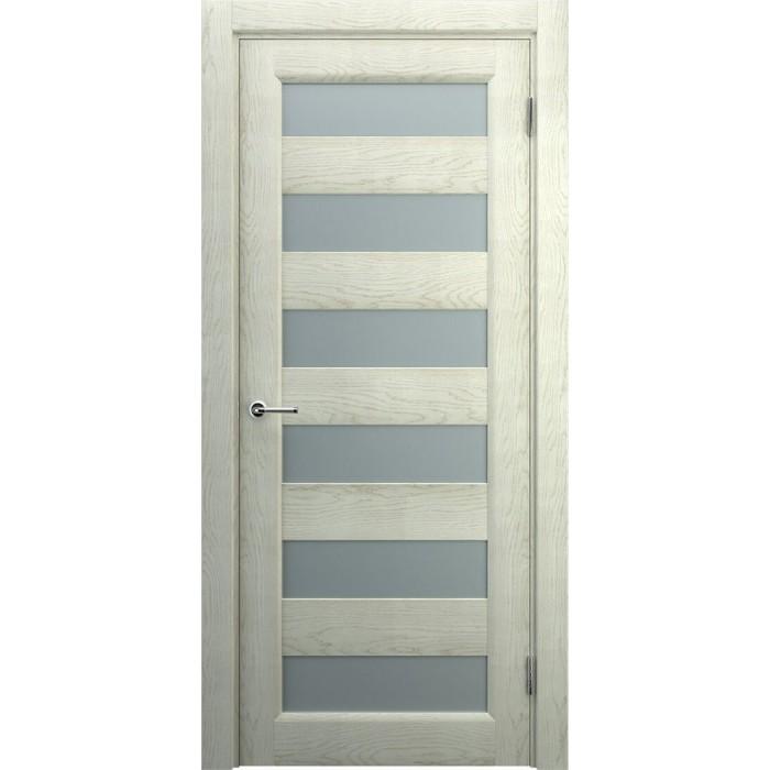 Двери деревянные современные светлые дуб беленый М3