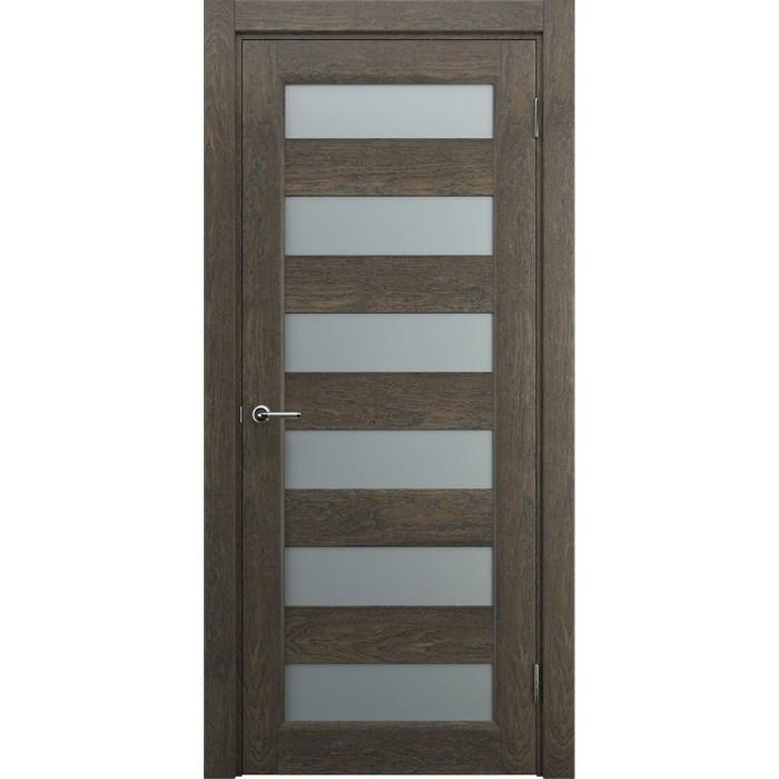Двери деревянные современные коричневые орех М3