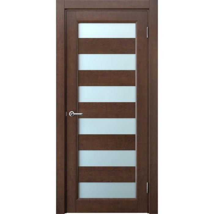 Купить двери из ольхи коричневые махагон в Калинковичах М3