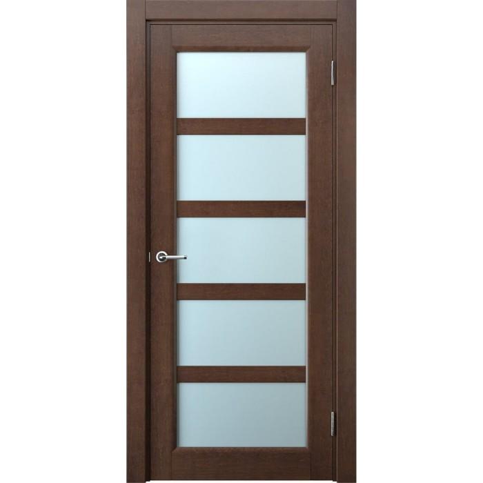 Межкомнатные двери Имплайн махагон М6
