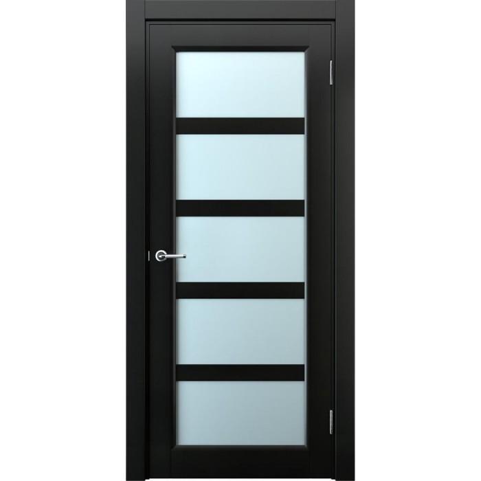 Межкомнатные двери Имплайн черные М6