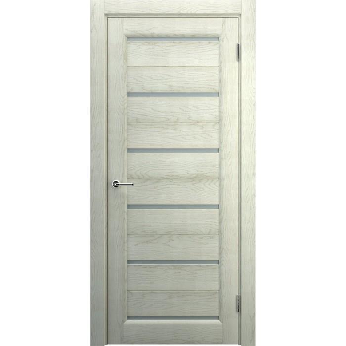 Двери в частный дом беленый дуб М7