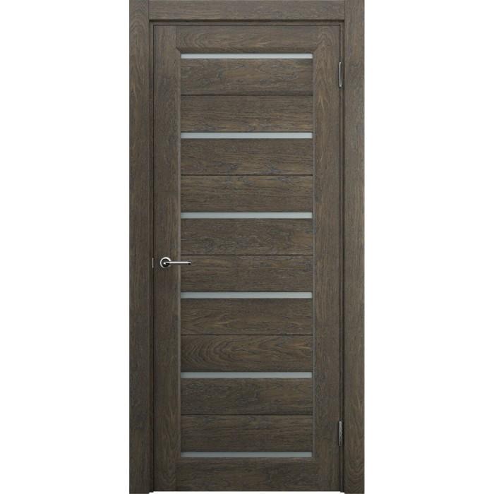 Двери в частный дом ореховые М7