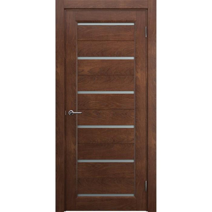 Двери в частный дом коричневые М7