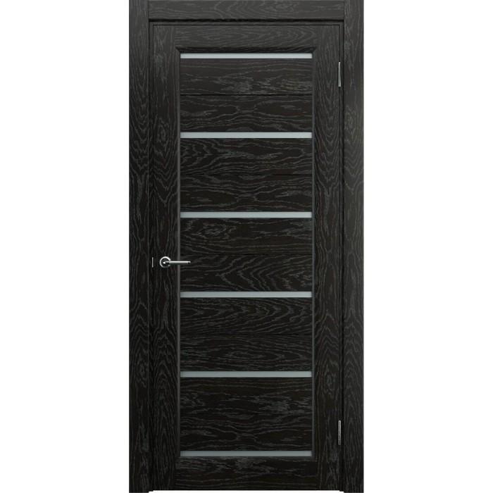 Двери в частный дом темные венге М7