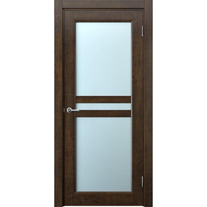 Двери межкомнатные коричневые орех М8