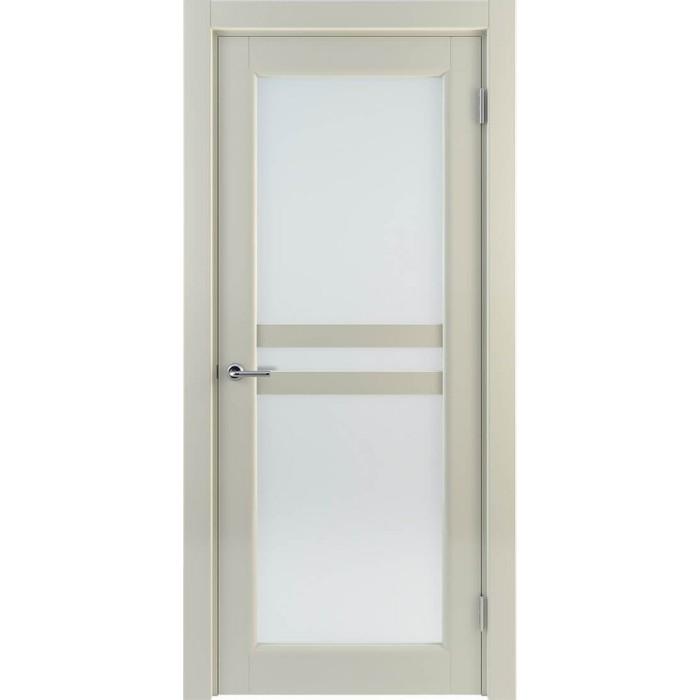 Двери межкомнатные молочные М8