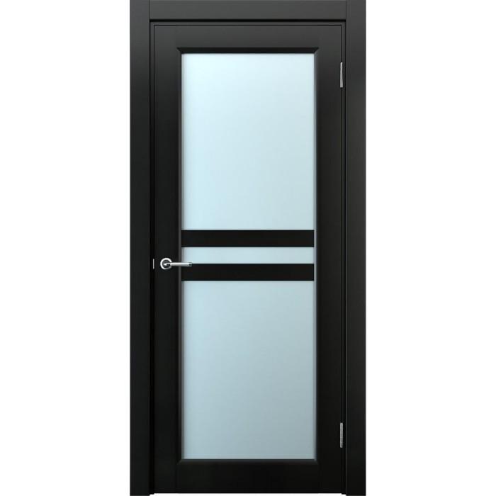 Двери межкомнатные черные венге М8