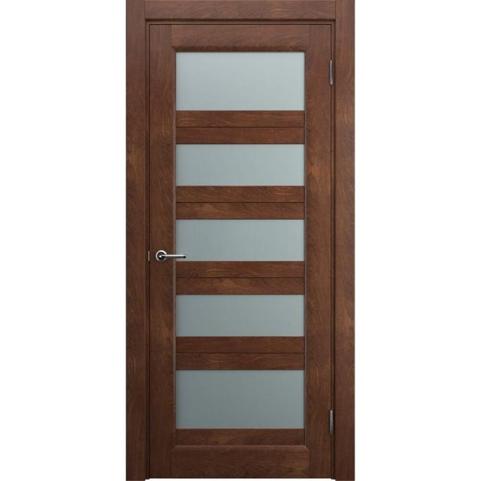 Белорусские двери из массива дуба коричневые М9
