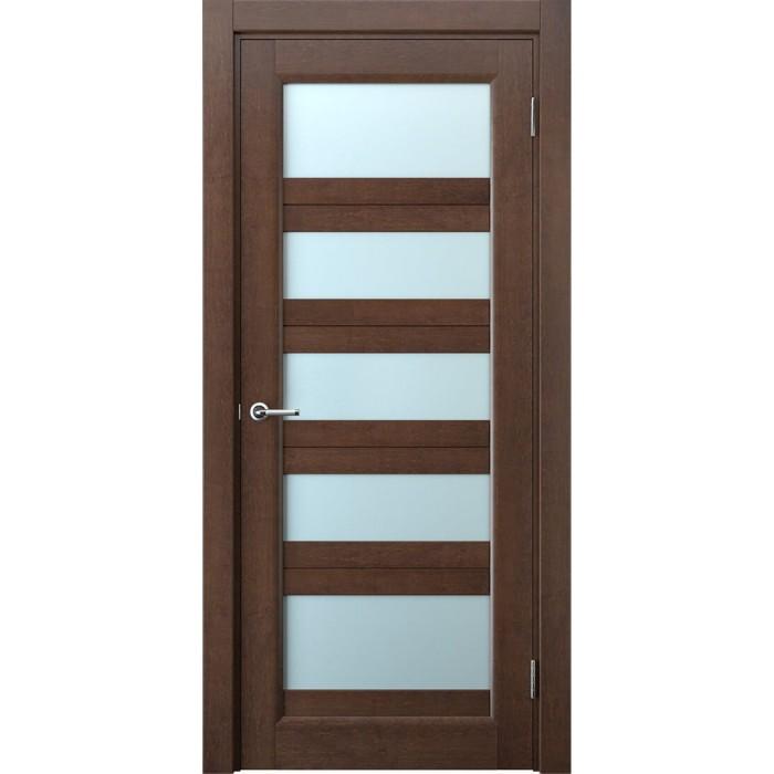 Деревянные двери межкомнатные махагон М9