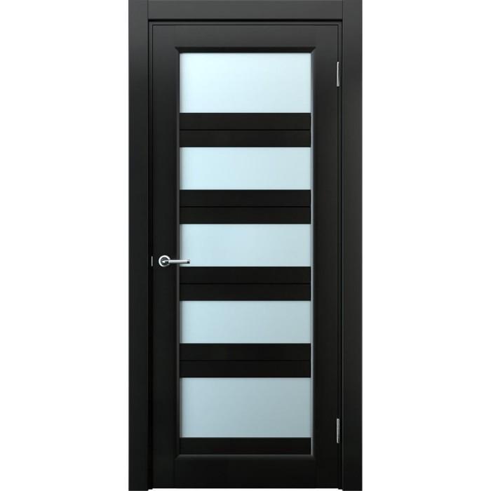 Деревянные двери межкомнатные черные М9
