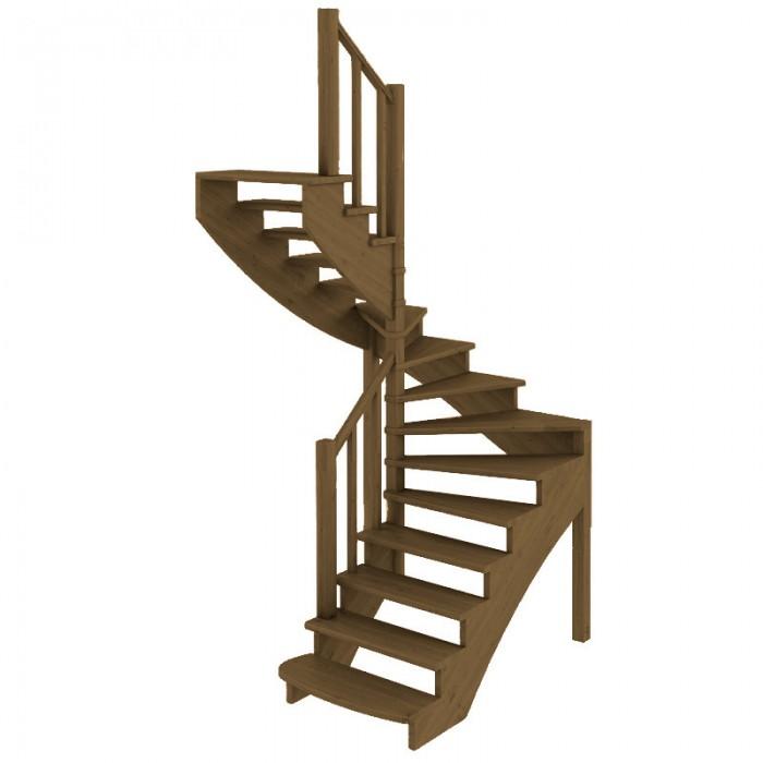 Деревянная лестница коричневая в Мозыре